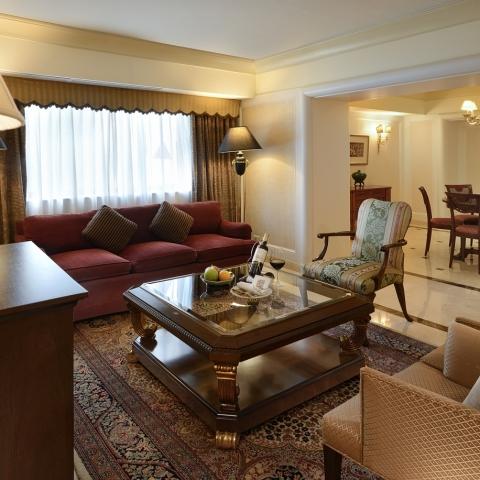 總統套房 (客廳)